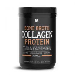 Sports Research, Bone Broth Collagen Protein, Chocolate, 1.06 lb (480 g) Pozostałe