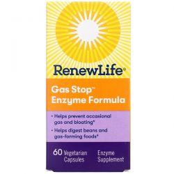 Renew Life, Gas Stop Enzyme Formula, 60 Vegetarian Capsules Pozostałe