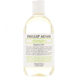 Phillip Adam, Shampoo, Fragrance Free, 12 fl oz (355 ml) Pozostałe