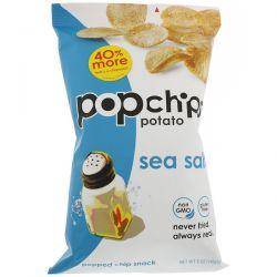 Popchips, Potato Chips, Sea Salt, 5 oz (142 g) Pozostałe