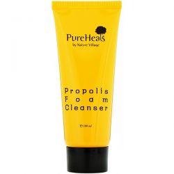 PureHeals, Propolis Foam Cleanser, 100 ml Animowane