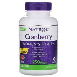 Natrol, Cranberry, Fast Dissolve, Cranberry Flavor, 250 mg, 120 Tablets Pozostałe