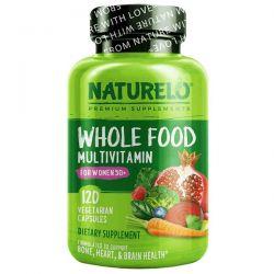 NATURELO, Whole Food Multivitamin for Women 50+, 120 Vegetarian Capsules Pozostałe