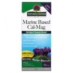 Nature's Answer, Marine Based Cal-Mag, 16 fl oz (480 ml) Pozostałe