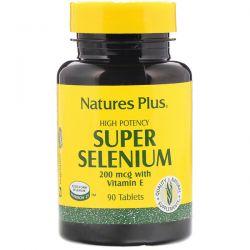 Nature's Plus, Super Selenium, High Potency, 200 mcg, 90 Tablets