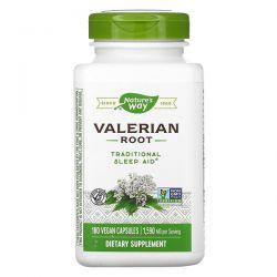 Nature's Way, Valerian Root, 1,590 mg, 180 Vegan Capsules Animowane