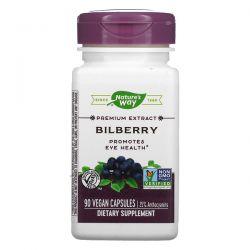 Nature's Way, Bilberry, 90 Vegan Capsules Pozostałe