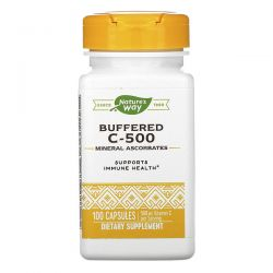 Nature's Way, Buffered C-500, 500 mg, 100 Capsules Pozostałe