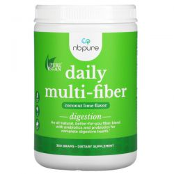 NB Pure, Daily Multi-Fiber, Coconut Lime, (360 g) Pozostałe