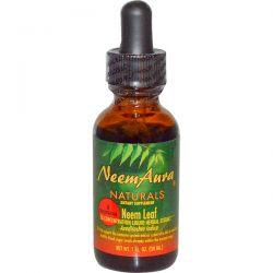 NeemAura, Neem Leaf, 3X Concentration, Extract, 1 fl oz (30 ml) Pozostałe