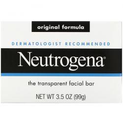 Neutrogena, Facial Cleansing Bar, 3.5 oz (100 g) Dla Dzieci