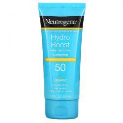 Neutrogena, Hydro Boost, Water Gel Lotion, SPF 50, 3 fl oz (88 ml) Dla Dzieci