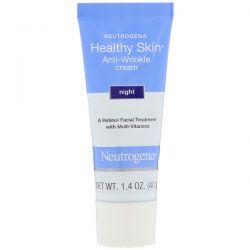 Neutrogena, Healthy Skin, Anti-Wrinkle Cream, Night, 1.4 oz (40 g) Dla Dzieci