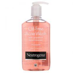 Neutrogena, Oil-Free Acne Wash, Pink Grapefruit Facial Cleanser, 9.1 fl oz (269 ml)  Dla Dzieci