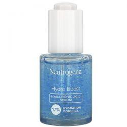 Neutrogena, Hydro Boost, Hyaluronic Acid Serum, Fragrance Free, 1.0  fl oz (30 ml) Dla Dzieci