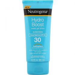 Neutrogena, Hydro Boost, Water Gel Lotion, SPF 30, 3 fl oz (88 ml) Dla Dzieci