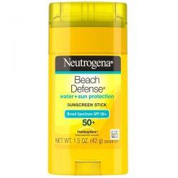 Neutrogena, Beach Defense, Sunscreen Stick, SPF 50+, 1.5 oz (42 g) Dla Dzieci