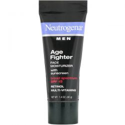 Neutrogena, Men, Age Fighter Face Moisturizer with Sunscreen, SPF 15, 1.4 oz (40 g) Dla Dzieci
