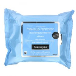 Neutrogena, Makeup Remover Cleansing Towelettes, 2 Packs, 25 Pre-Moistened Towelettes Each Dla Dzieci