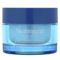 Neutrogena, Hydro Boost, Night Pressed Serum, 1.7 oz (48 g) Dla Dzieci