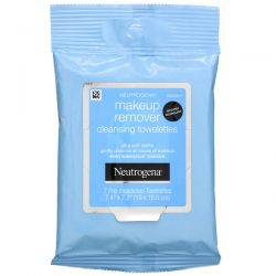 Neutrogena,  Makeup Remover Cleansing Towelettes,  7 Pre-Moistened Towelettes Dla Dzieci