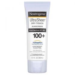 Neutrogena, Ultra Sheer, Dry-Touch Sunscreen SPF 100+, 3 fl oz (88 ml) Dla Dzieci