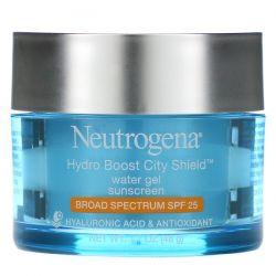 Neutrogena, Hydro Boost City Shield, Water Gel Sunscreen, SPF 25, 1.7 oz (48 g)  Dla Dzieci