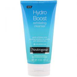 Neutrogena, Hydro Boost, Exfoliating Cleanser, 5 oz (141 g) Dla Dzieci