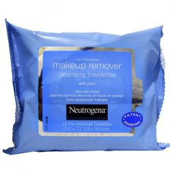 Neutrogena, Makeup Remover Cleansing Towelettes, 25 Pre-Moistened Towelettes Dla Dzieci