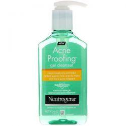 Neutrogena, Acne Proofing, Gel Cleanser, 6 oz (170 g) Dla Dzieci