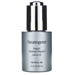 Neutrogena, Rapid Wrinkle Repair, Retinol Oil, 1 fl oz (30 ml) Dla Dzieci