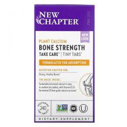 New Chapter, Bone Strength Take Care, 240 Vegetarian Tiny Tablets Dla Dzieci