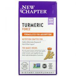 New Chapter, Turmeric Force, 120 Vegetarian Capsules Dla Dzieci