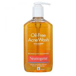 Neutrogena, Oil-Free Acne Wash, 9.1 fl oz (269 ml) Dla Dzieci