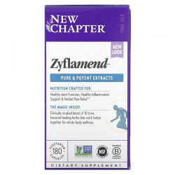 New Chapter, Zyflamend, 180 Vegetarian Capsules Dla Dzieci