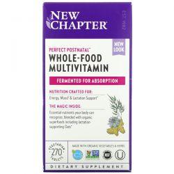 New Chapter, Perfect Postnatal Whole-Food Multivitamin, 270 Vegetarian Tablets Dla Dzieci