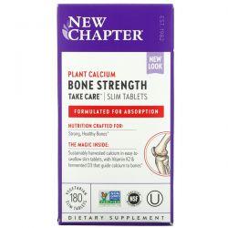 New Chapter, Bone Strength Take Care, 180 Vegetarian Slim Tablets Dla Dzieci