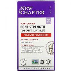 New Chapter, Bone Strength Take Care, 120 Vegetarian Slim Tablets Dla Dzieci