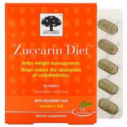 New Nordic, Zuccarin Diet, 60 Tablets Dla Dzieci