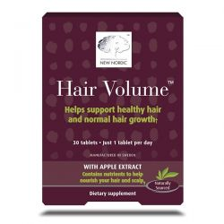New Nordic, Hair Volume with Apple Extract, 30 Tablets Dla Dzieci