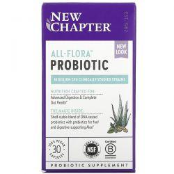 New Chapter, All-Flora Probiotic , 30 Vegan Capsules Dla Dzieci