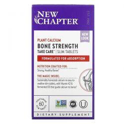 New Chapter, Bone Strength Take Care, 60 Vegetarian Slim Tablets Dla Dzieci