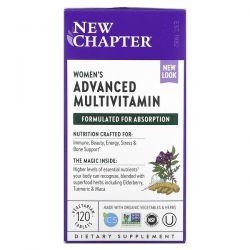 New Chapter, Women's Advanced Multivitamin, 120 Vegetarian Tablets Dla Dzieci