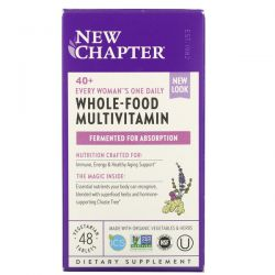 New Chapter, 40+ Every Woman's One Daily Whole-Food Multivitamin, 48 Vegetarian Tablets Dla Dzieci