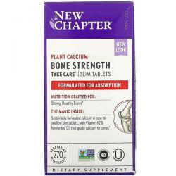 New Chapter, Bone Strength Take Care, 270 Vegetarian Slim Tablets Dla Dzieci