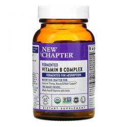 New Chapter, Fermented Vitamin B Complex, 60 Vegan Tablets Dla Dzieci