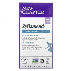 New Chapter, Zyflamend Pure and Potent Extracts, 120 Vegetarian Capsules Dla Dzieci
