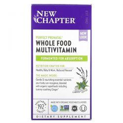 New Chapter, Perfect Prenatal, Whole Food Multivitamin, 192 Vegetarian Tablets Dla Dzieci