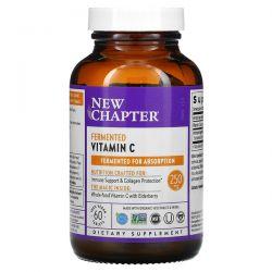 New Chapter, Fermented Vitamin C, 250 mg, 60 Vegan Tablets Dla Dzieci