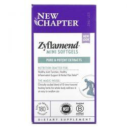 New Chapter, Zyflamend, 180 Mini Softgels Dla Dzieci